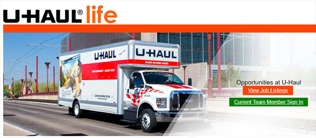 uHaul work from home