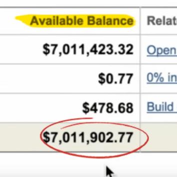 Copy My Websites balance