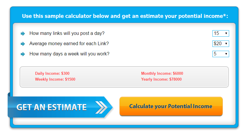 Worldwide Home Income calculator