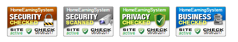 Home Earning System secure
