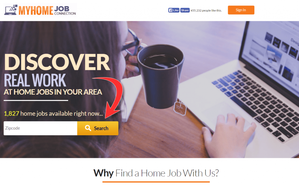 MyHomeJobConnection top