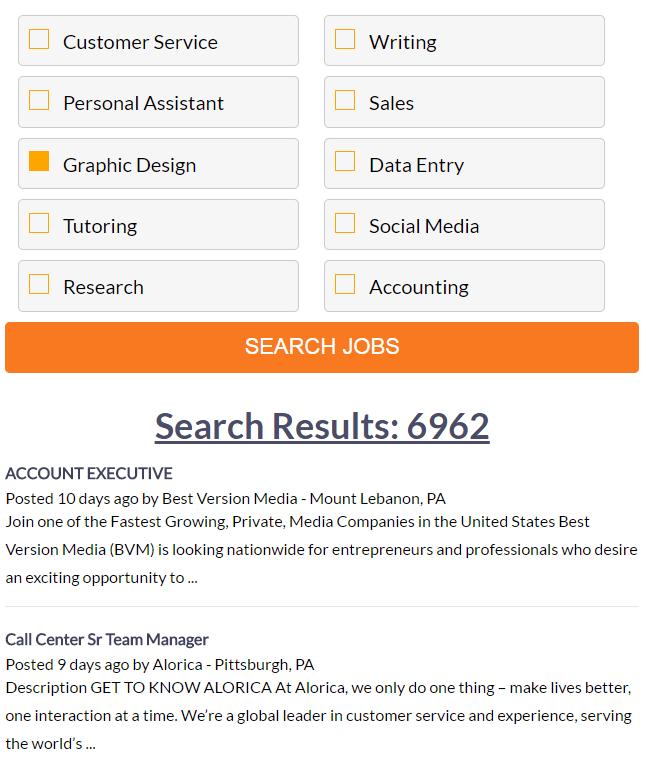 MyHomeJobConnection ziprecruiter
