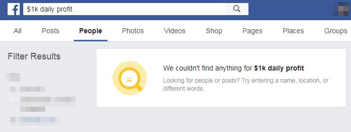 1K Daily Profit facebook