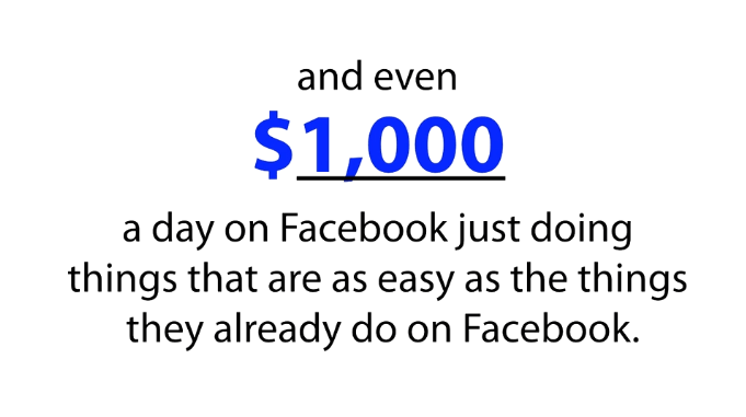 FB Freedom Cash Facebook on Fire 1000