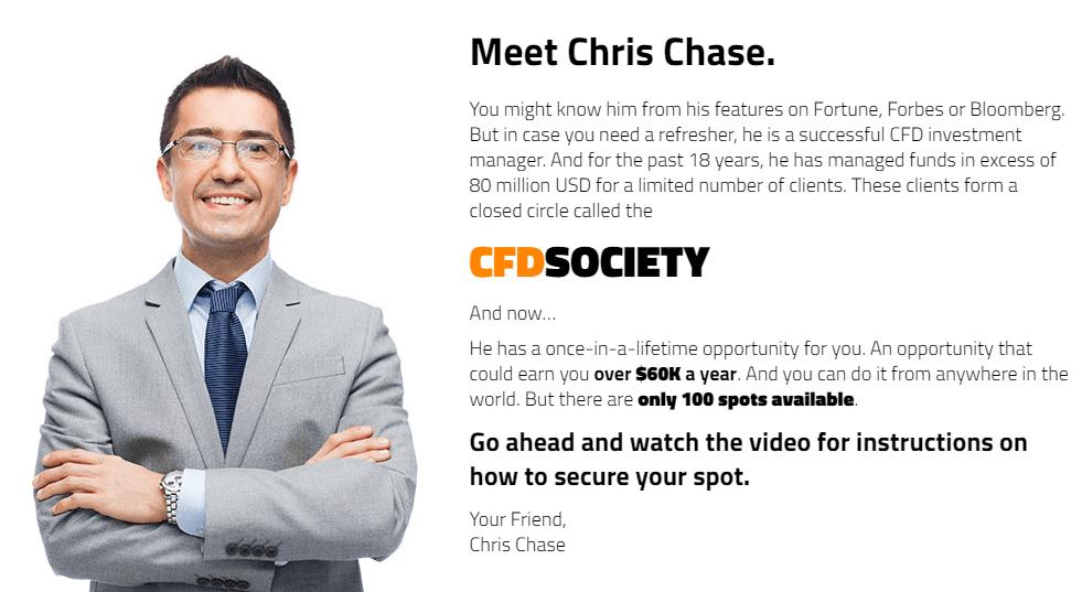 CFD Society Chris Chase