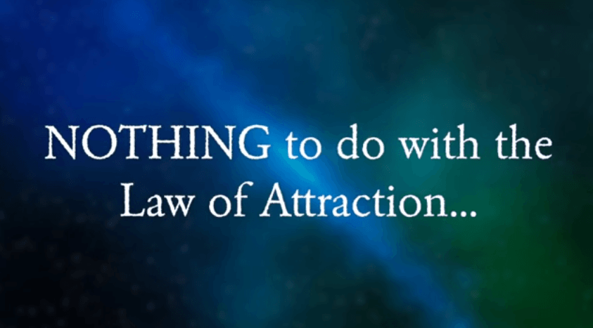 Manifestation Millionaire not law of attraction