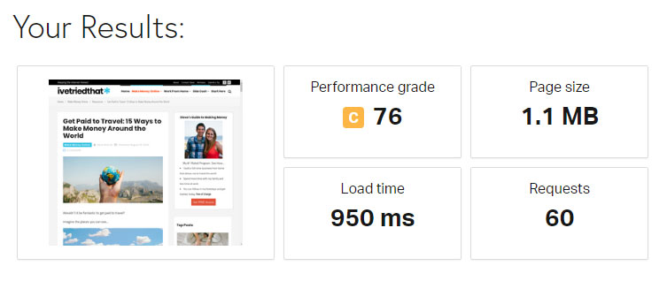 Page Load Times with Ads - Pingdom