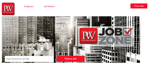 Publishers Weekly Jobs